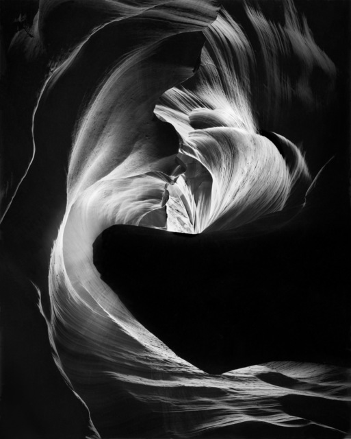 , 'Circular Chimney, Antelope Canyon,' 1980, Photography West Gallery