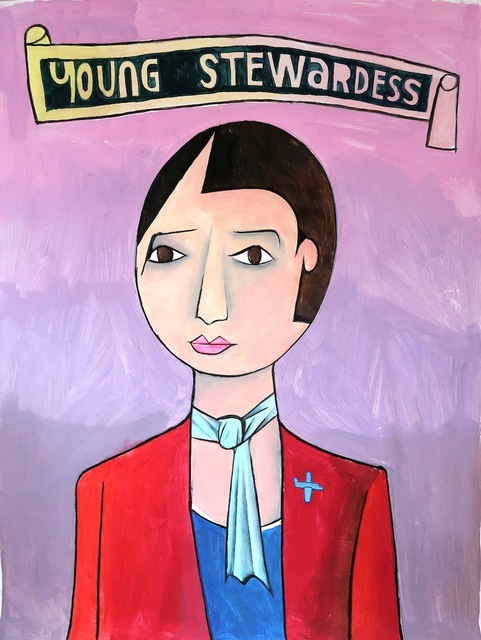 , 'Young Stewardess,' 2017, Die Kunstagentin
