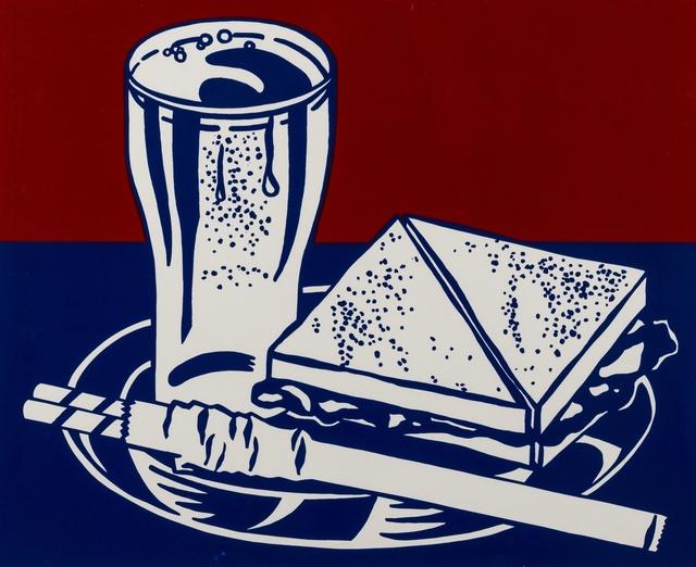Roy Lichtenstein, 'Sandwich and Soda', 1964, Forum Auctions