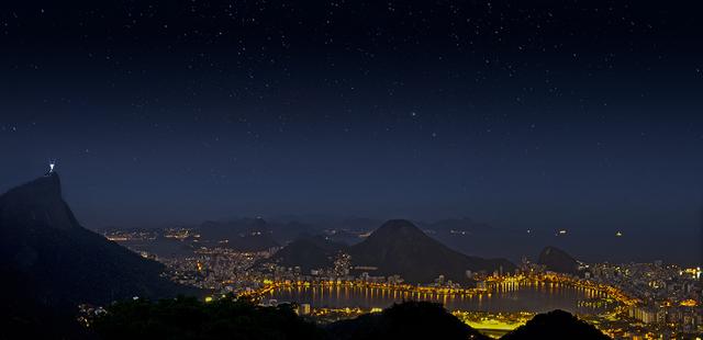 , 'RJ Vista de Niterói (Noturnos),' , Galeria Lume