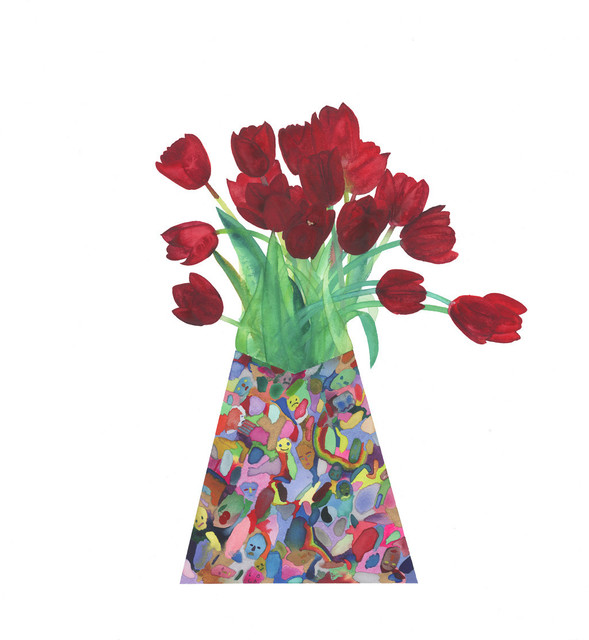 Lola Rose Thompson, 'Flowers To Make Up For Death (Tulips)', 2015, Tappan