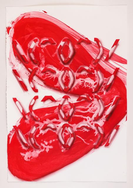 , '\(^O^)/,' 2017, Galerie Krinzinger
