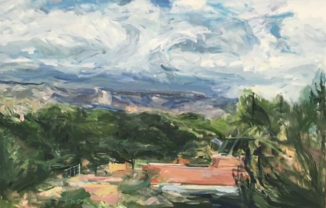 , 'Mountain and Sky Steps,' 2015, Cerulean Arts