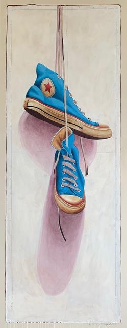 Santiago Garcia, 'Converse #1337', 2020, Painting, Acrylic on canvas, CODA Gallery