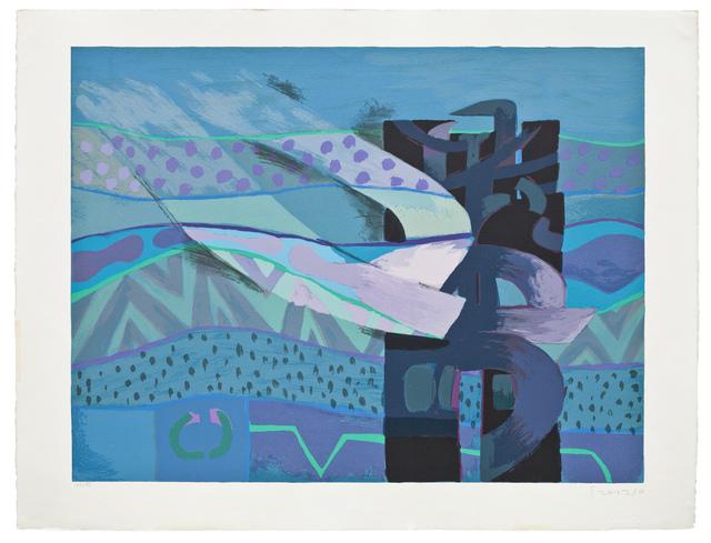 , 'Mar de Lurin II,' 1989, Praxis Prints