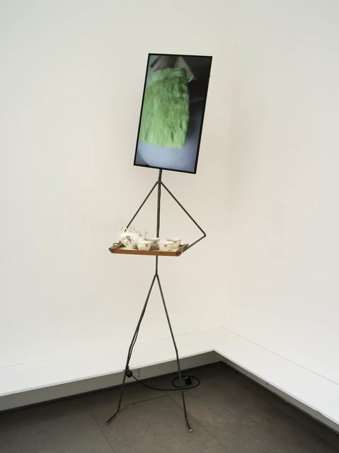 , 'The Parle Ment Metal Man offering drinks,' 2017, Galerie Nathalie Obadia