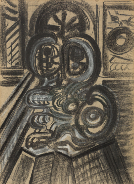 , 'Untitled,' 1952, October Gallery