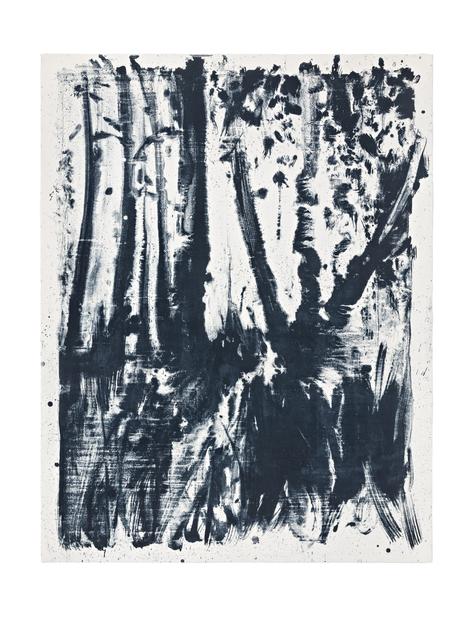 , 'Indigo Forest 5,' 2015, STPI