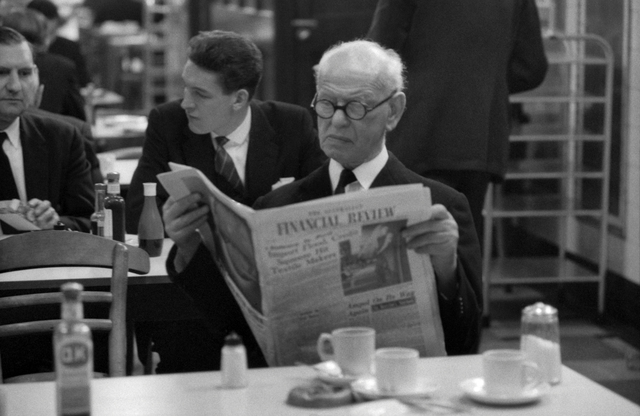 , 'Banker, Stock Exchange, London,' 1961, Gallery Vassie