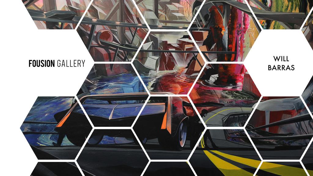 Will Barras – Fousion Gallery – at Urvanity Art Fair Madrid 2020