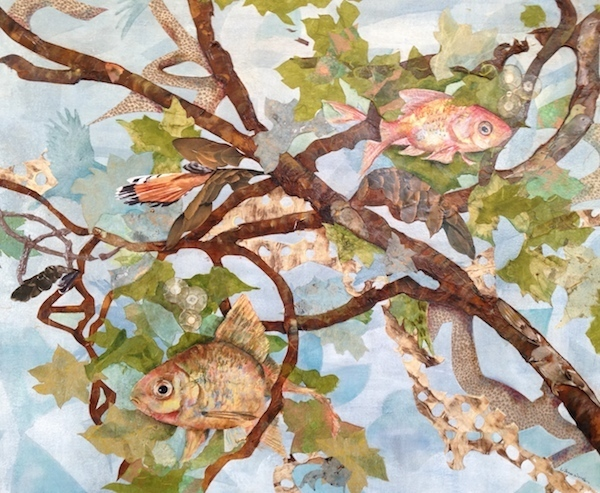 , 'If a Fish Loved a Bird Where Would They Live,' 2014, Walter Wickiser Gallery
