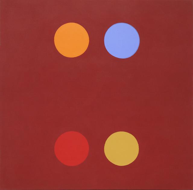 , '2 x 2 Circle Matrix,' 1964, David Richard Gallery