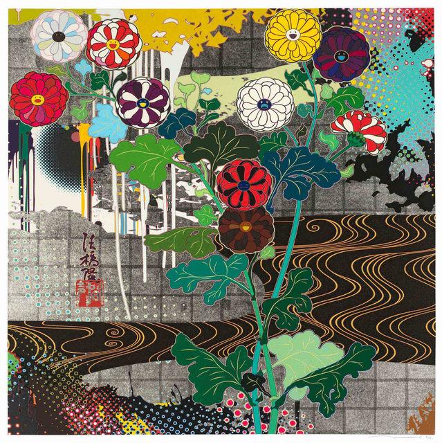 Takashi Murakami, 'Kansei Platinum', Strauss & Co