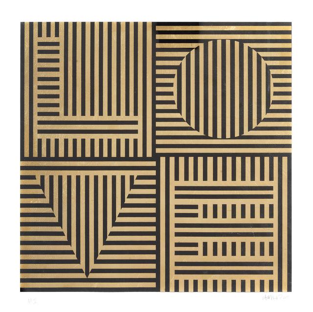 Carl Cashman, 'Love Hurts (Gold Leaf)', 2015, Tate Ward Auctions