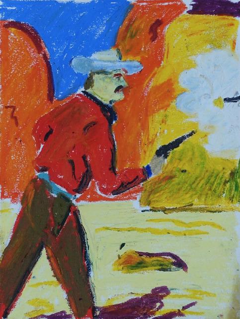 , 'Shootout,' 2018, 1969 Gallery