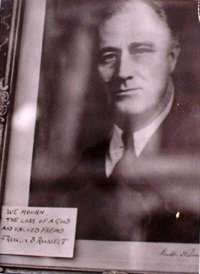 , 'Franklin D. Roosevelt,' 1945, Seraphin Gallery