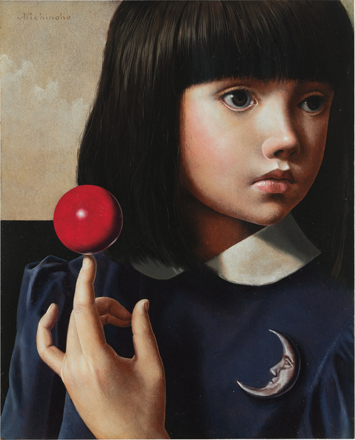 Masaru Shichinohe, 'Red Ball and Silver Moon', 2014, Phillips