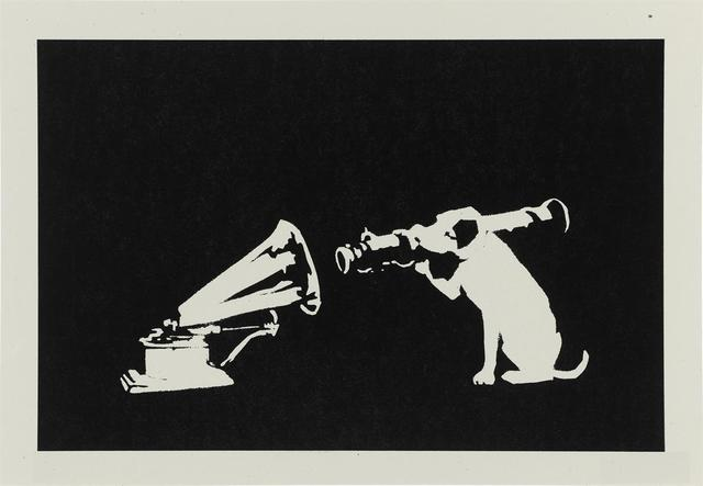 Banksy, 'HMV (Unsigned)', 2003, Lougher Contemporary