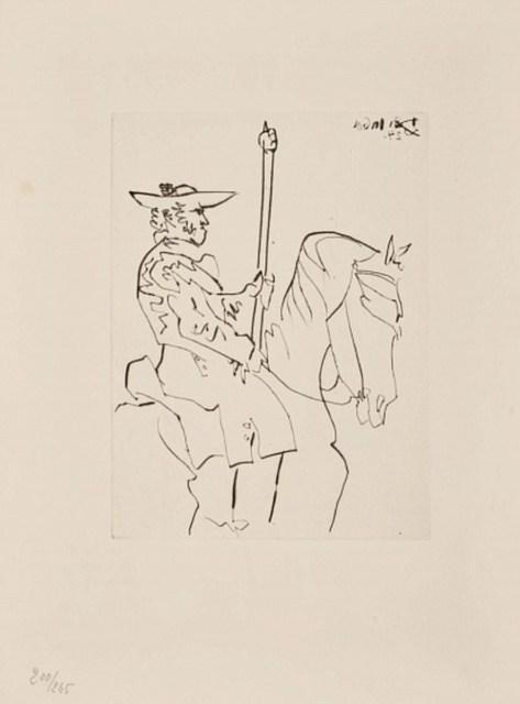 Pablo Picasso, 'Picador', 1960, Altmans Gallery