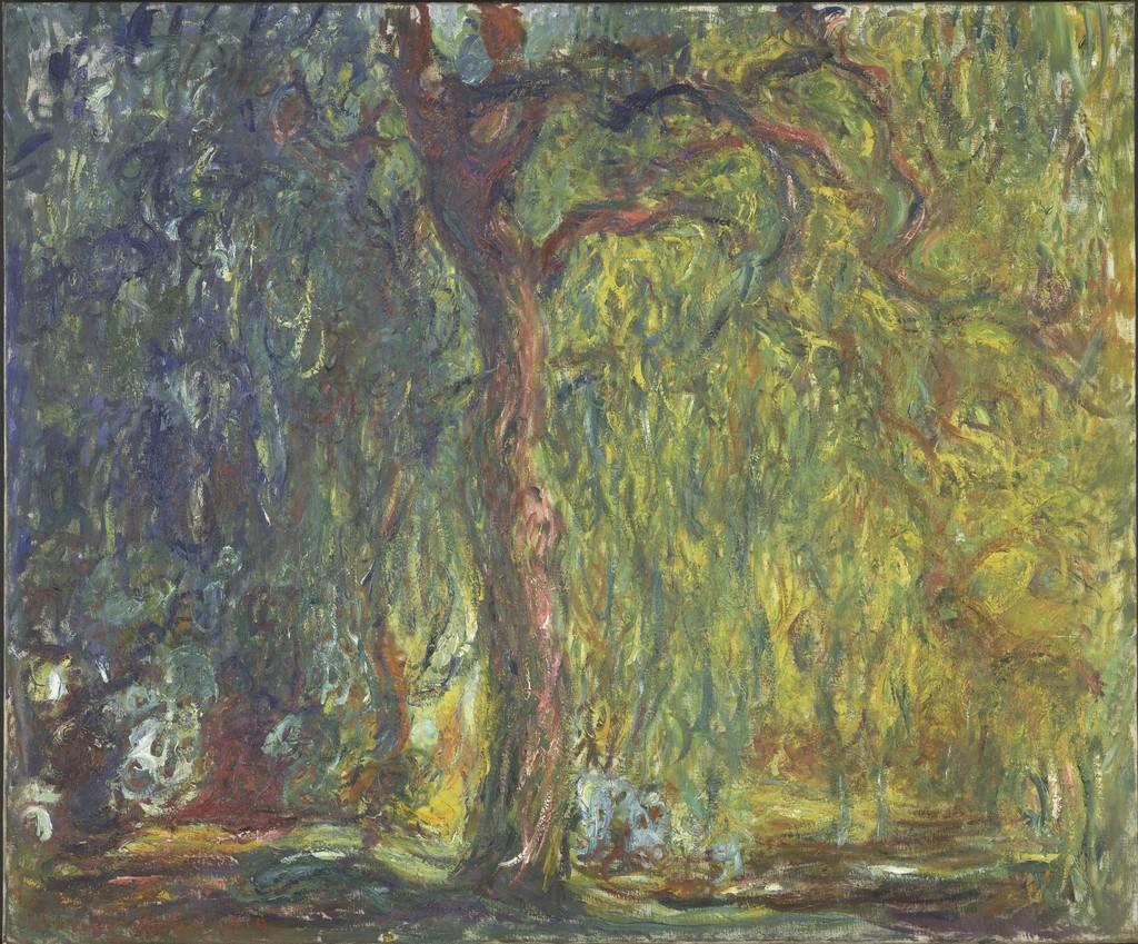 Claude Monet Weeping Willow 1918 1919
