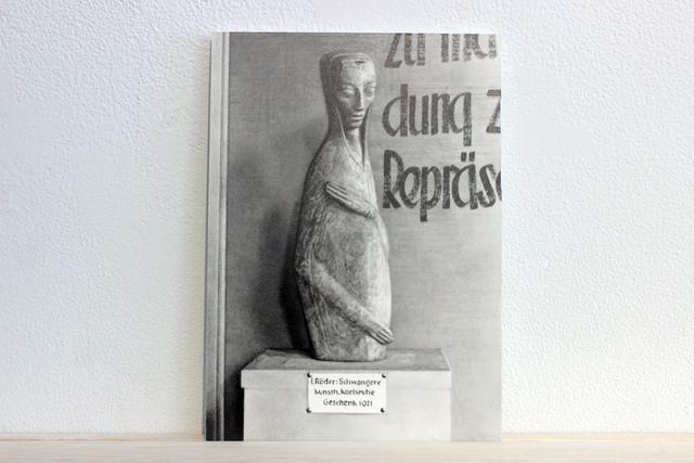 """, 'Postcards to AZ: Emy Roeder's """"Schwangere Kunsth, Kartsruche Geschenk, 1921"""",' 2017, Josée Bienvenu"""