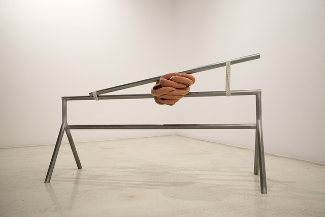 , 'Crushed by pressure, debris,' 2017, Galería Joan Prats
