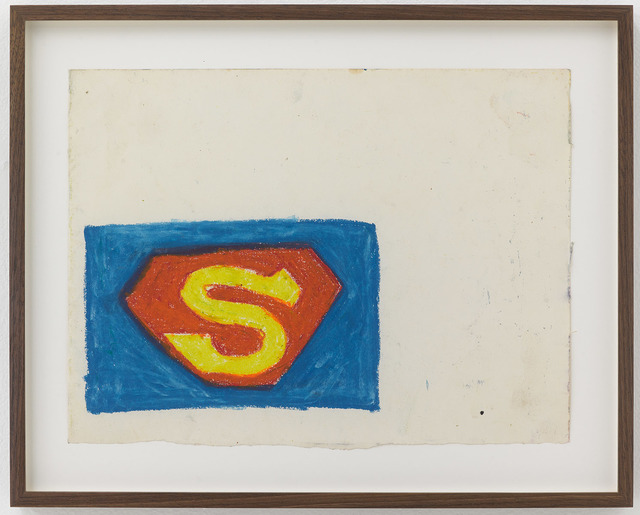 , 'Superman Logo,' ca. 1978, Fisher Parrish Gallery