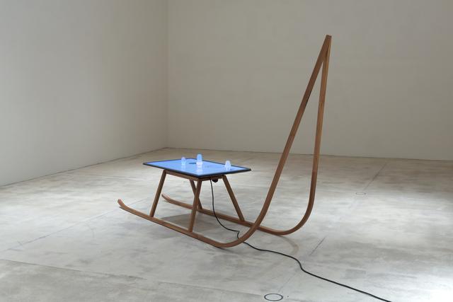 , 'Schlitten mit Allegorien der Luft,' 2017, Galerie Krinzinger