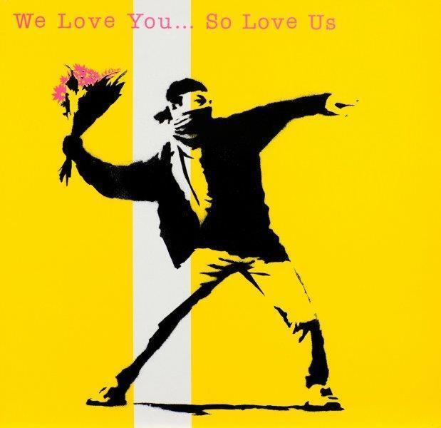 , 'We Love You… So Love Us,' 2000-2010, Modus Art Gallery