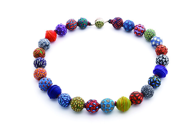 , 'Big Bead Necklace #140,' 2015, form & concept
