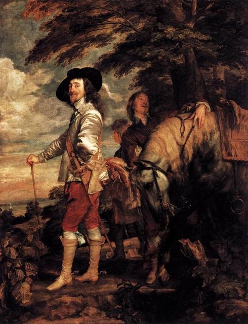 Anthony van Dyck, 'Charles I at the Hunt', 1635, Musée du Louvre