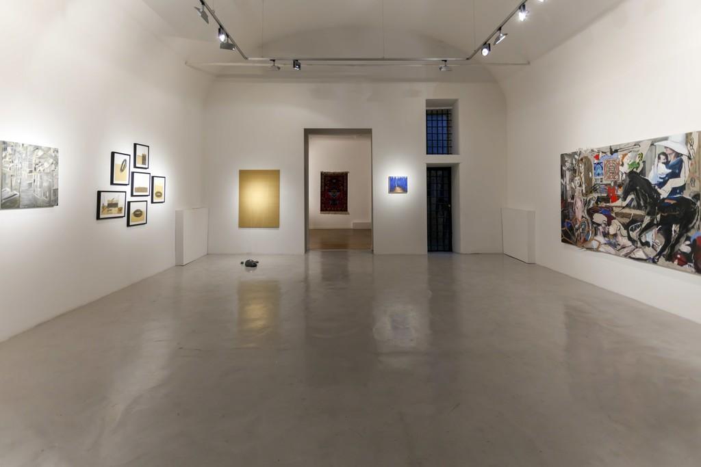 "Installation view ""Five Years""  Faig Ahmed, Lucilla Candeloro, Luca Padroni, Alia Scalvini, Federico Guerri"