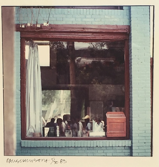 , 'Study for Chinese Summerhall (Blue Window),' 1982, Eckert Fine Art