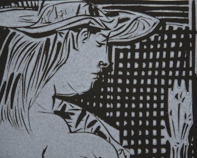 Pablo Picasso, 'Deux Femmes avec un Vase a Fleurs', 1959, Print, Linocut, Heather James Fine Art