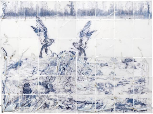 , 'Fields,' 2017, Callan Contemporary