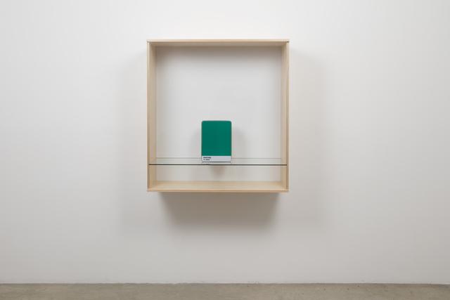 Haim Steinbach, 'Untitled (Pantone 17-5641)', 2016, Tanya Bonakdar Gallery