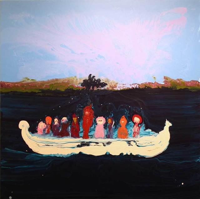 , 'Boat People,' 2016, Harper's Books