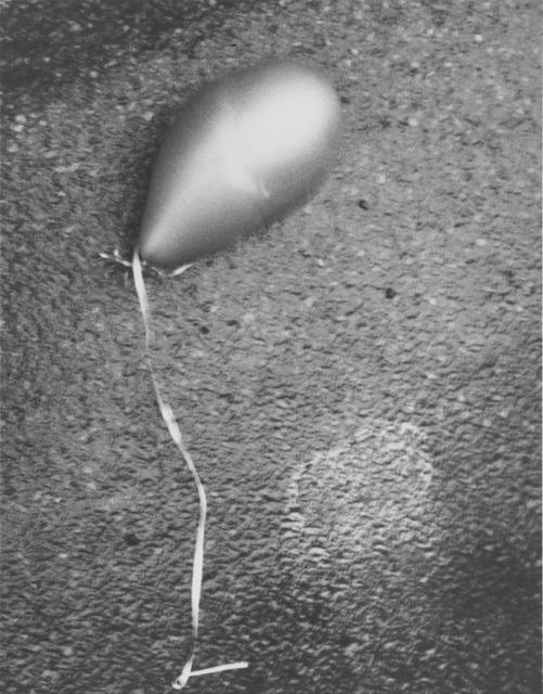 , 'Silver Balloon, New York City, January 1,' 2010, Gagosian