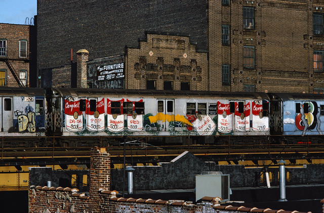 , 'Campbell's Soup by Fab 5 Freddy,' 1981, Steven Kasher Gallery