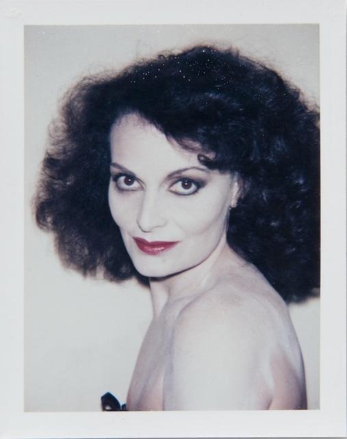 , 'Andy Warhol, Polaroid Portrait of Diane Von Furstenberg,' 1984, Hedges Projects