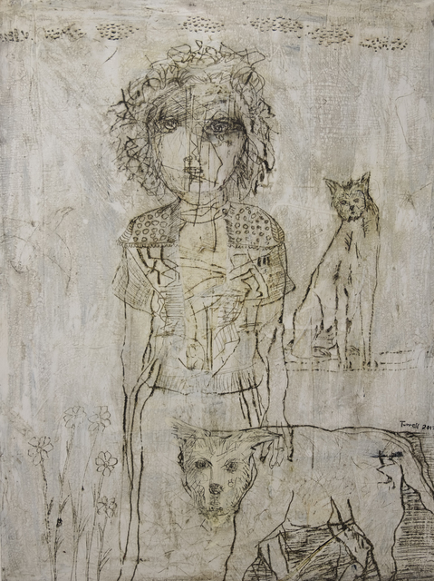 , 'By Her Side,' 2017, Patricia Rovzar Gallery