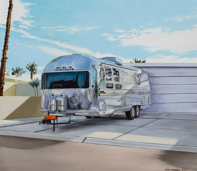 , 'Palm Springs Airstream 4,' 2017, Linda Hodges Gallery