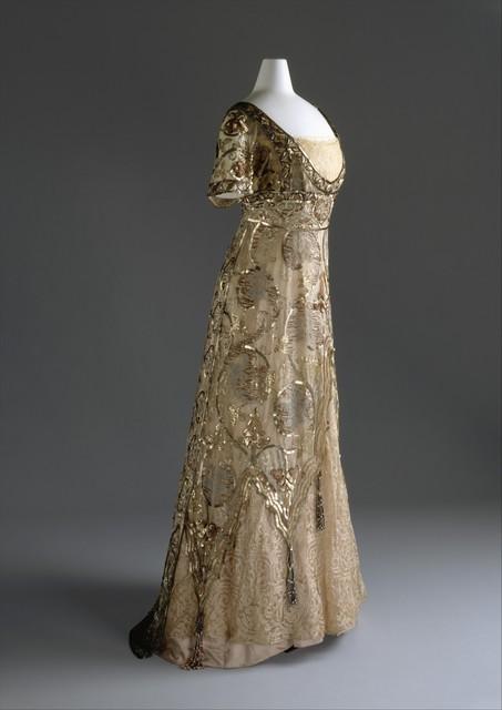 Callot Soeurs, 'Evening dress', 1910–1914, The Metropolitan Museum of Art