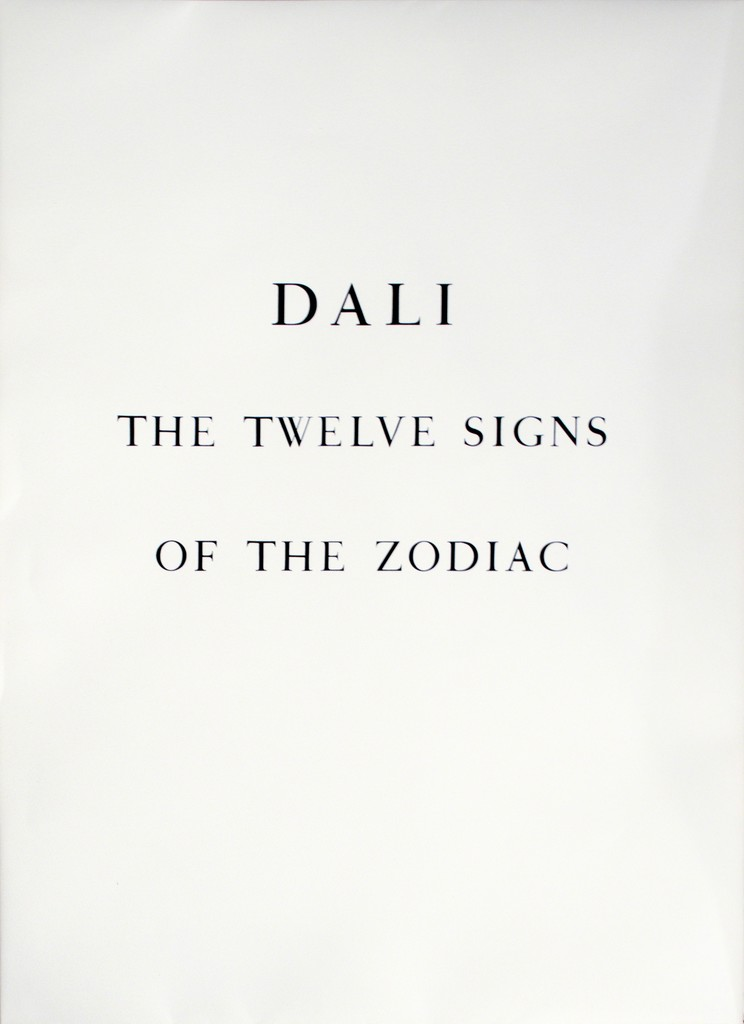 Full Portfolio of 13 Original Lithographs: The Twelve Signs of The Zodiac