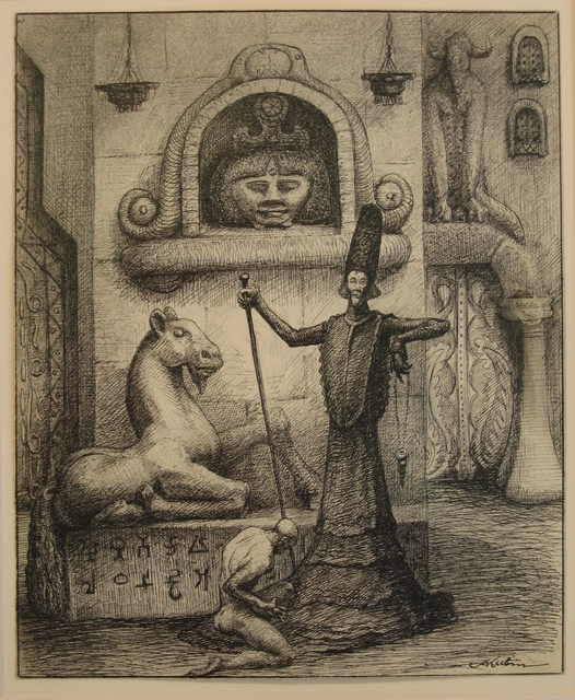 Alfred Kubin, 'The Magician', ca. 1900, Richard Nagy Ltd.
