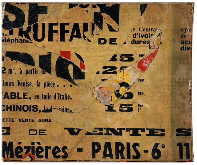 Jacques Villeglé, 'Rue de Mézières', 1961, Modernism Inc.