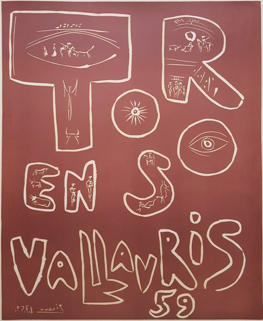 Pablo Picasso, 'Toros en Vallauris', 1959, Graves International Art