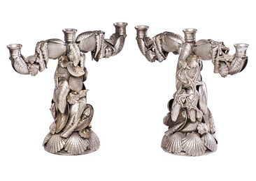 Pair of Marine Candelabra