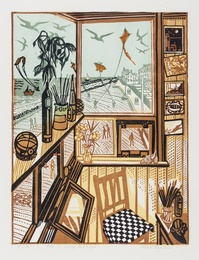Richard Bawden, 'Kites II Spring Aldeburgh,' , Forum Auctions: Editions and Works on Paper (March 2017)