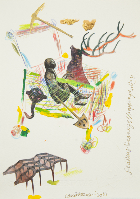 , 'Seamus Heaney's Shopping Trolley,' 2014, Ronald Feldman Fine Arts